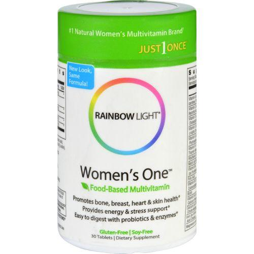 Rainbow Light Women's One Food-Based Multivitamin - 30 Tablets