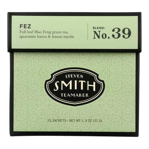 Smith Teamaker Green Tea - Fez - Case of 6 - 15 Bags