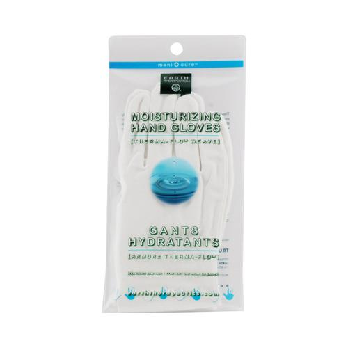 Earth Therapeutics Moisturizing Hand Gloves White - 1 Pair