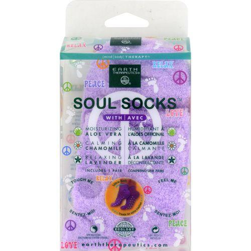 Earth Therapeutics Soul Socks - Lavender - 1 Pair