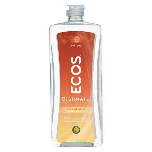 Earth Friendly Dishmate Dish Liquid - Apricot - 25 fl oz