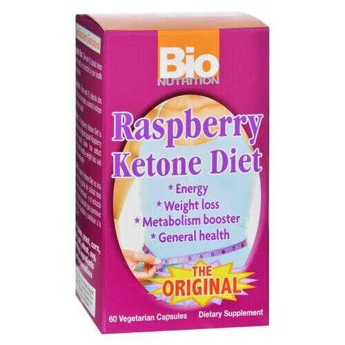 Bio Nutrition - Raspberry Ketone Diet - 60 Veggie Capsules