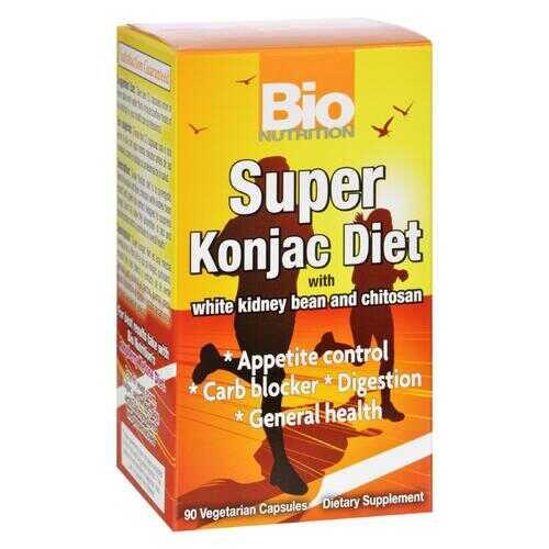 Bio Nutrition - Super Konjac Diet - 90 Veggie Capsules