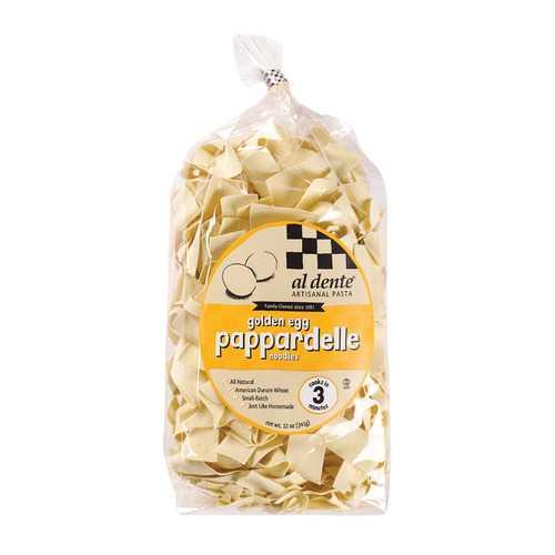Al Dente Pappardelle - Golden Egg - Case of 6 - 12 oz.