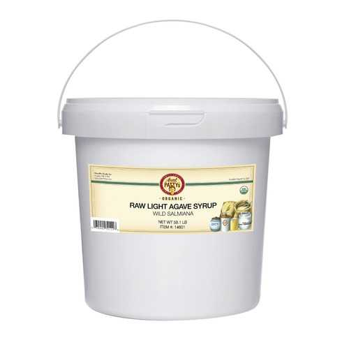 Aunt Patty's Organic Agave Syrup - Raw - Light - 58.1 lb.
