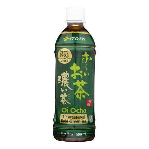 Ito En Oi Ocha Dark Green Tea - case of 12 - 16.9oz