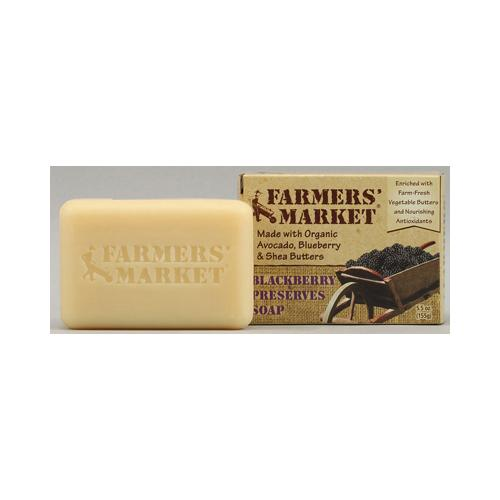 Farmer's Market Natural Bar Soap Blackberry Preserves - 5.5 oz