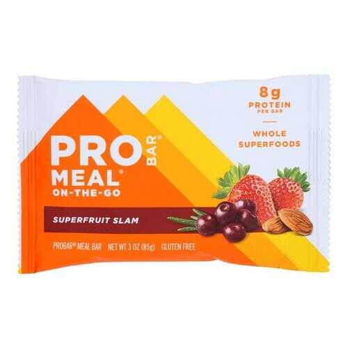 Probar Organic Superfruit Slam Bar - Case of 12 - 3 oz