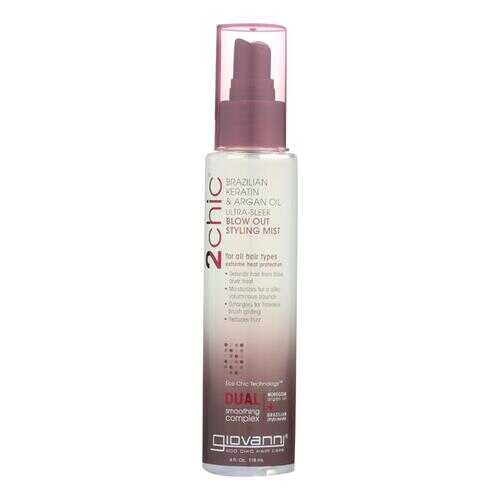 Giovanni 2chic Blow Out Styling Mist with Brazilian Keratin and Argan Oil - 4 fl oz