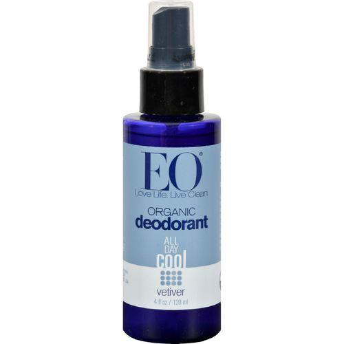 EO Products Organic Deodorant Spray Vetiver - 4 fl oz