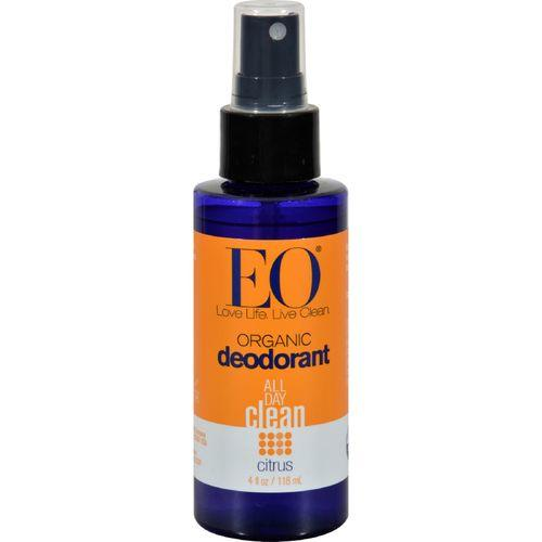 EO Products Organic Deodorant Spray Citrus - 4 fl oz