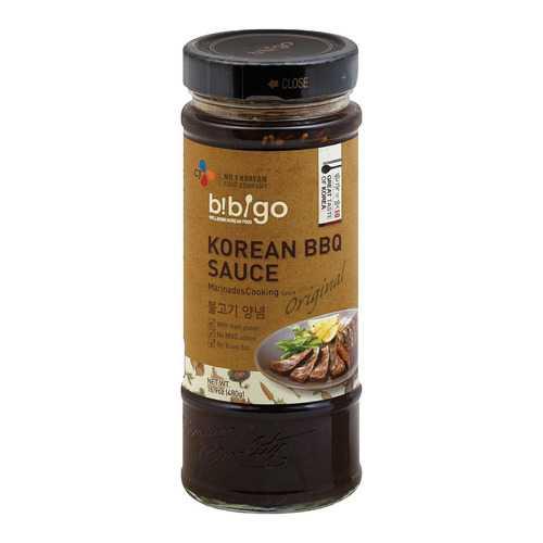 Bibigo Korean BBQ Sauce - Original Flavor - Case of 6 - 16.9 oz.