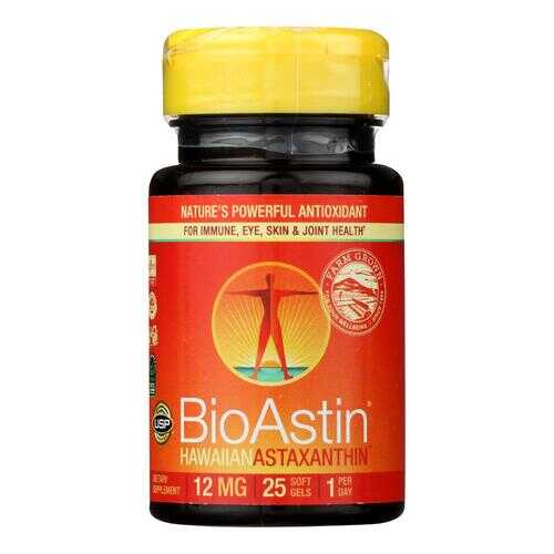 Nutrex Hawaii BioAstin Hawaiian Astaxanthin - 12 mg - 25 Gel Caps