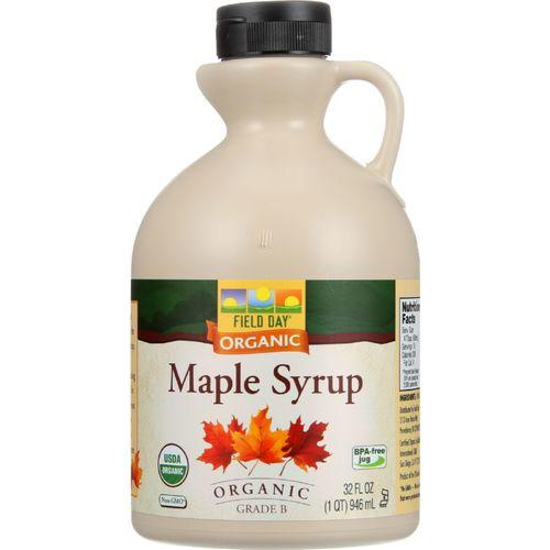 Field Day Maple Syrup - Organic - Grade B - 32 oz - case of 6