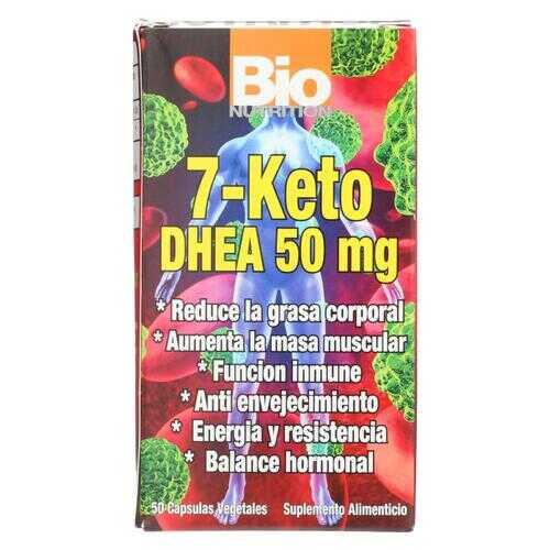 Bio Nutrition - 7 Keto DHEA 50 mg - 50 Vegetarian Capsules