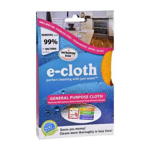 """E-Cloth General Purpose Cloth 12.5"""" x 12.5"""" inches - 1 Cloth"""