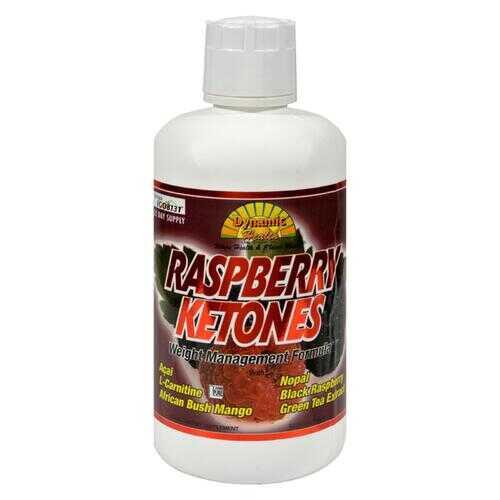 Dynamic Health Raspberry Ketones - 32 fl oz
