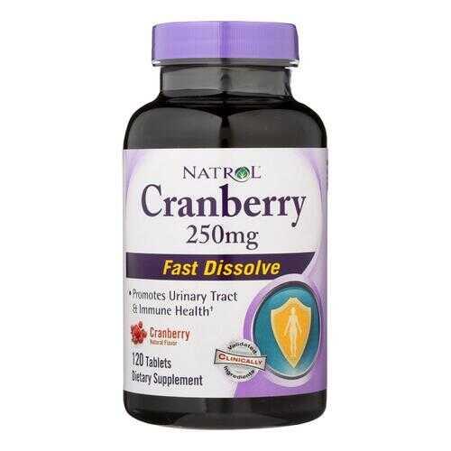 Natrol Cranberry Fast Dissolve - 250 mg - 120 Tablets