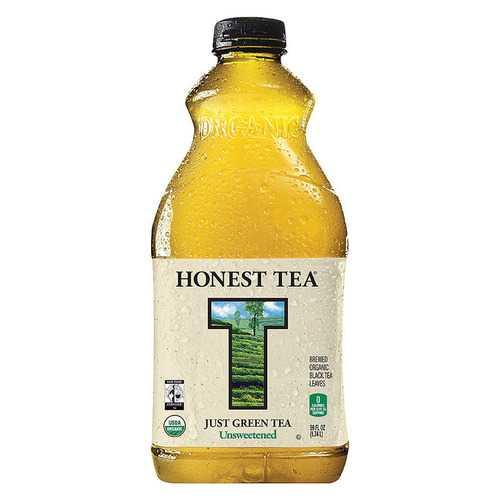 Honest Tea Just Green Tea - Case of 8 - 59 fl oz