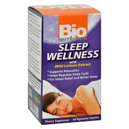 Bio Nutrition - Sleep Wellness - 60 Vcaps