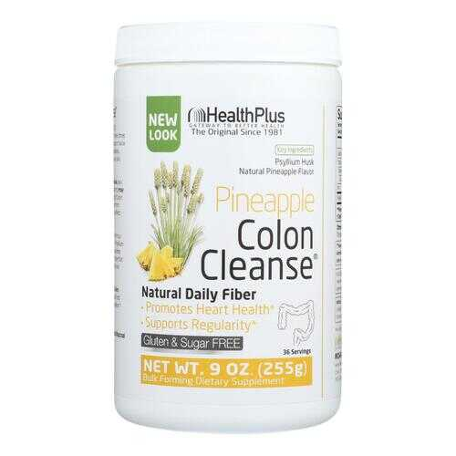 Health Plus - Colon Cleanse - Pineapple Stevia - 9 oz