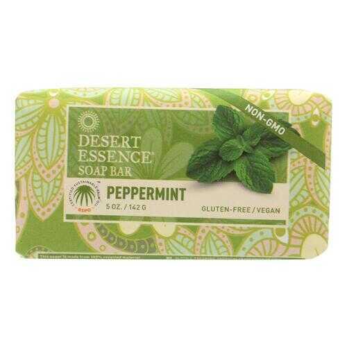 Desert Essence Bar Soap - Peppermint - 5 oz