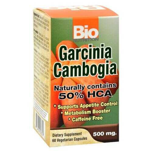 Bio Nutrition - Garcinia Cambogia 500mg - 60 Vcaps