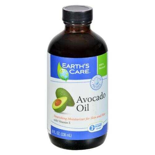 Earth's Care 100% Pure and Natural Avocado Oil - 8 fl oz