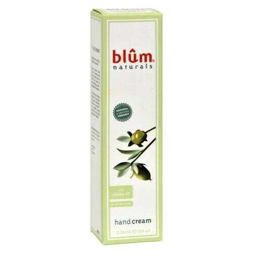 Blum Naturals - Hand Cream - with Jojoba Oil - 3.38 oz