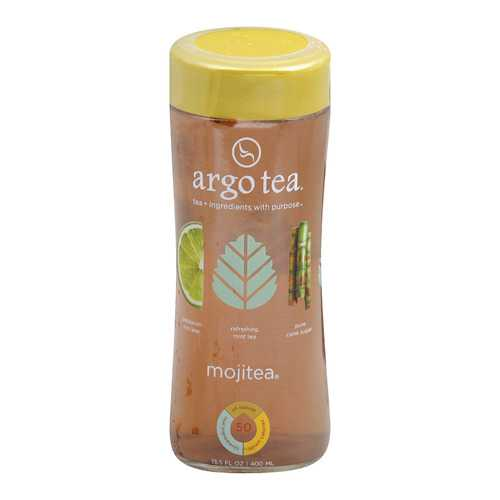 Argo Tea Iced Green Tea - Mojitea - Case of 12 - 13.5 Fl oz.