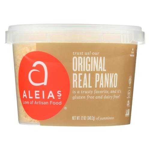 Aleia'S Gluten Free Bread Crumbs Real Panko Original - Case Of 12 - 12 Oz