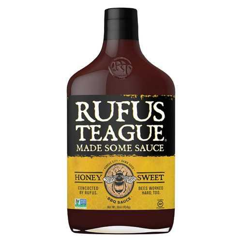 Rufus Teague BBQ Sauce - Honey Sweet - Case of 6 - 16 oz.