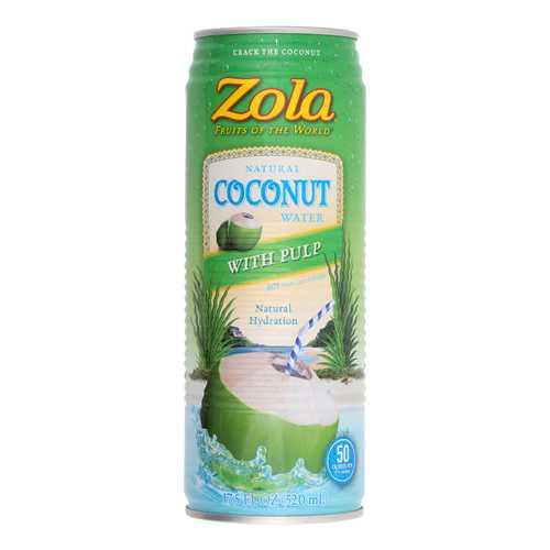 Zola Acai Coconut Water - Pulp - Case of 12 - 17.5 Fl oz.