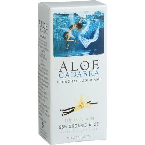 Aloe Cadabra Natural Organic Personal Lubricant - Tahitian Vanilla - 2.5 oz
