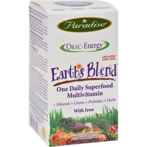 Paradise Herbs Orac-Energy Multi with Iron - 60 vcaps