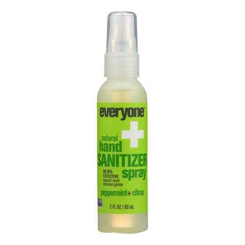 EO Products Hand Sanitizer Spray - Everyone - Ppprmnt - Dsp - 2 oz - 1 Case