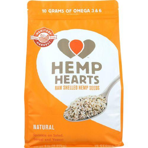 Manitoba Harvest Hemp Hearts - Shelled - 5 lb - 1 each