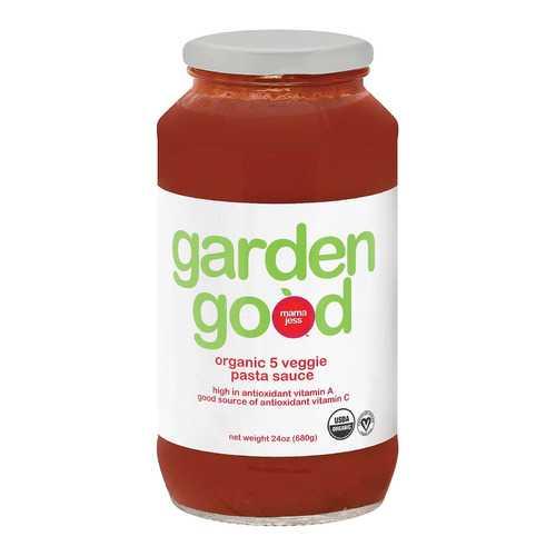 Mama Jess Pasta Sauce - Organic - 5 Veggie - Case of 6 - 24 oz