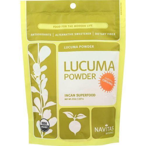 Navitas Naturals Lucuma Powder - Organic - 8 oz - case of 6