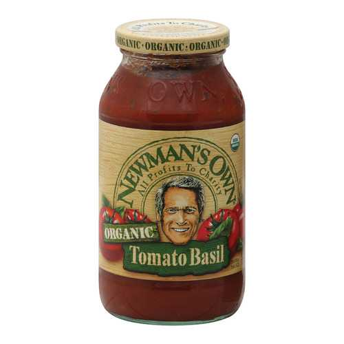 Newman's Own Bombolina Pasta Sauce - Tomato and Basil - Case of 12 - 23.5 oz.