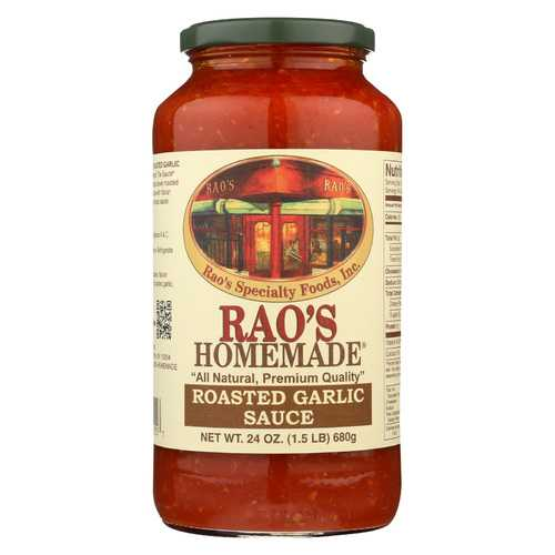 Rao's Specialty Food Homemade Sauce - Roasted Garlic - Case of 12 - 24 oz.