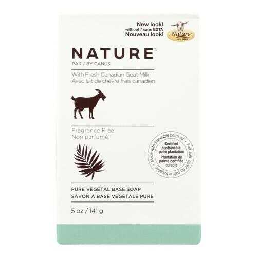 Canus Goats Milk Bar Soap - Fragrance Free - 5 oz