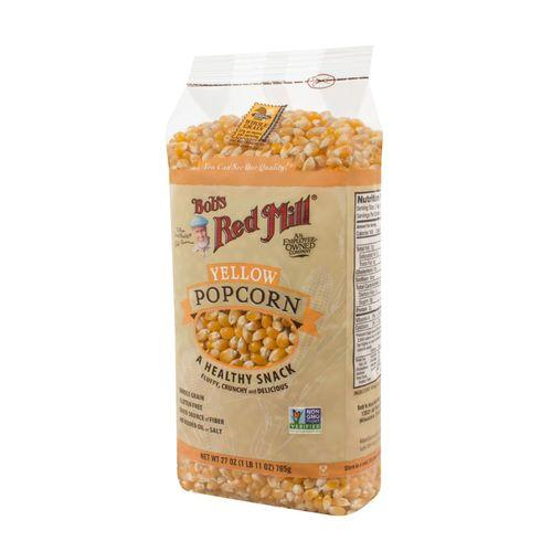 Bob's Red Mill Whole Yellow Popcorn - 27 oz - Case of 4
