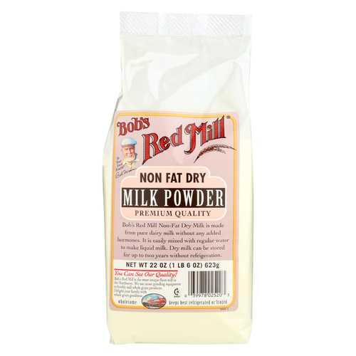Bob's Red Mill Bobs Instant Powdered Milk - Case of 4 - 22 oz