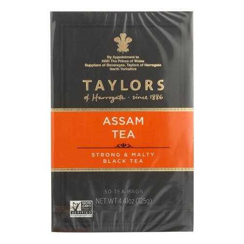Taylors Of Harrogate Pure Assam Tea  - Case of 6 - 50 BAG
