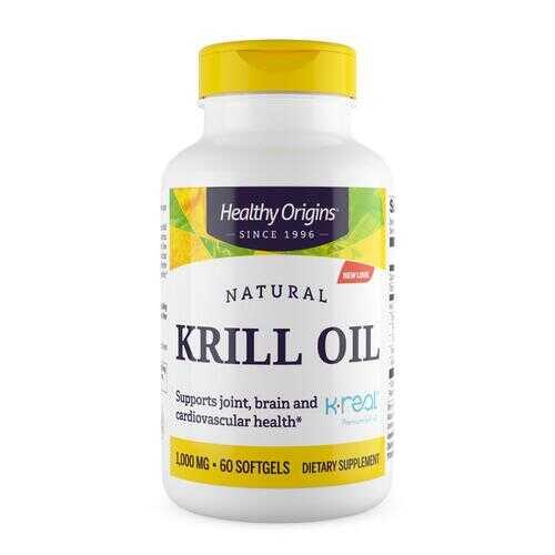 Healthy Origins Krill Oil - 1000 mg - 60 Softgels