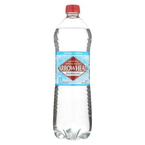 Arrowhead Spring Water - Ah 1L Spring Sparkling Water 12 Singles - Case of 12 - 1 Ltr