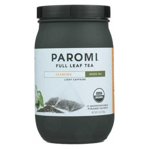 Paromi Tea Organic Paromi Jasmine Tea - Case of 6 - 15 count