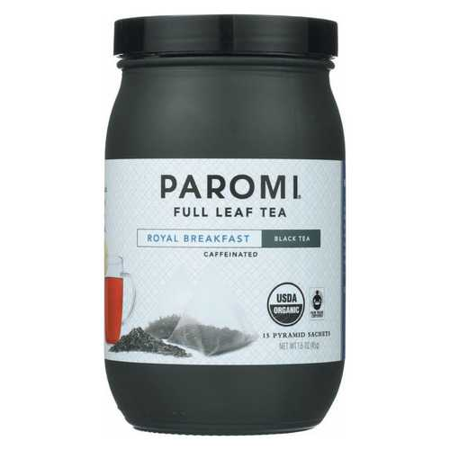 Paromi Tea Organic Paromi Royal Breakfast Tea - Case of 6 - 15 count