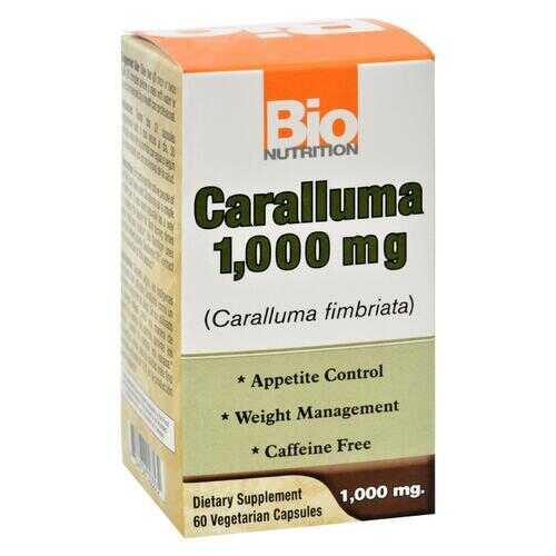 Bio Nutrition - Caralluma - 1000 mg - 60 Vegetarian Capsules